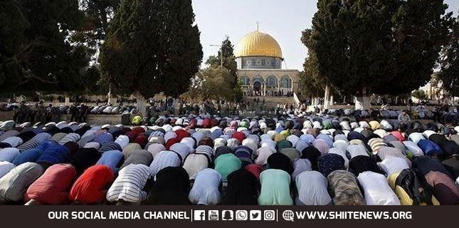 مسجد اقصیٰ میں نماز جمعہ