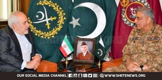 ایرانی وزیر خارجہ جواد ظریف کی پاکستان آمد، آرمی چیف جنرل قمر باجوہ سے اہم ملاقات