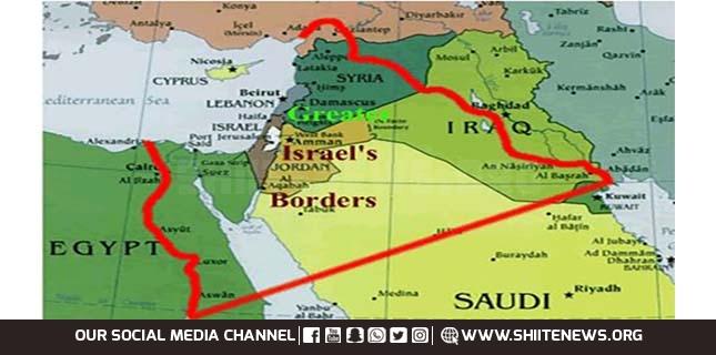 گریٹر اسرائیل یعنی ارض اسرائیل ھا شلیما کا نظریہ