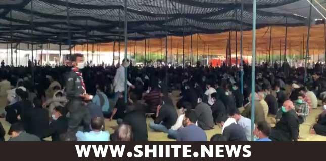 کراچی، نشتر پارک میں مرکزی مجلس یوم علیؑ کا آغاز ہوگیا