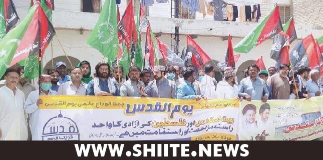 کندھ کوٹ، مجلس وحدت مسلمین اور شیعہ علماء کونسل کی یوم القدس ریلی
