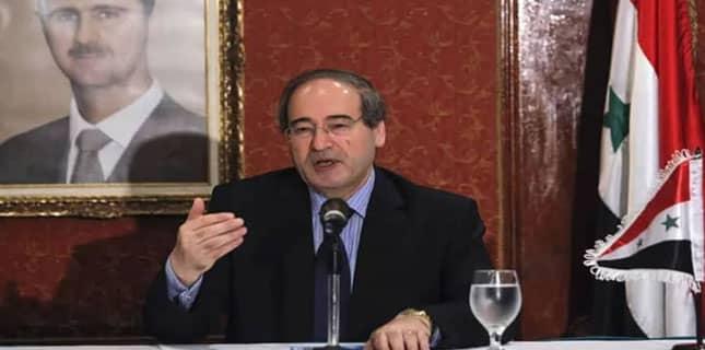 شام کے وزیر خارجہ
