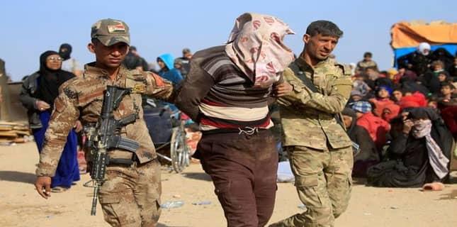 داعش دہشت گردوں