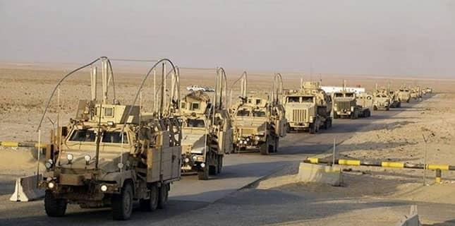 دہشت گرد فوجی کانوائے