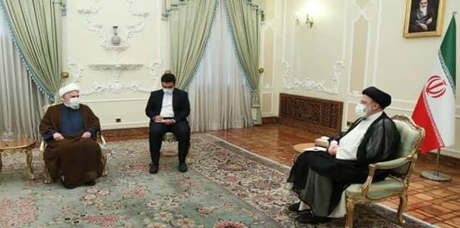 صدر ایران آیت اللہ رئیسی