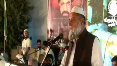 شہید قائد پاکستان میں اتحاد بین المسلمین کے علمبردار ہیں، پیر صفدر گیلانی کا خطاب