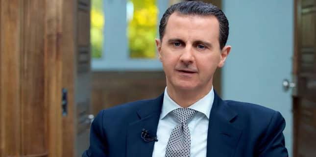شامی صدر بشار الاسد