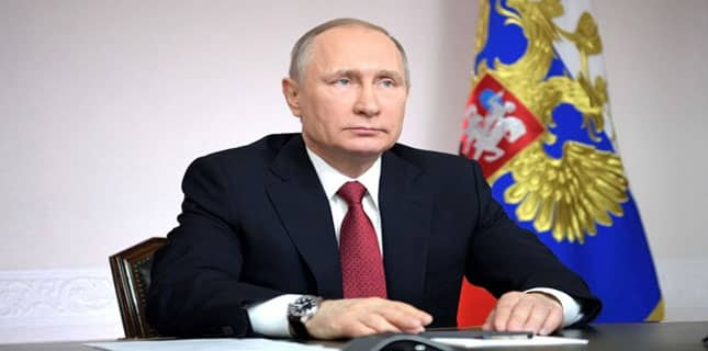 روسی صدر ولادیمیر
