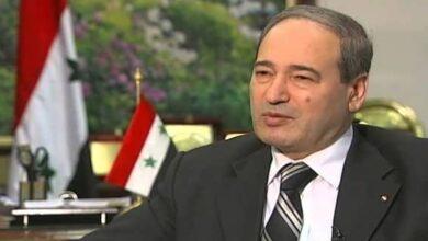 وزیر خارجہ فیصل المقداد