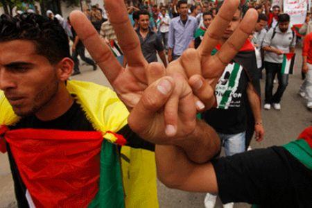 shiitenews_Palestinians_rejoice_Fatah_Hamas_unity