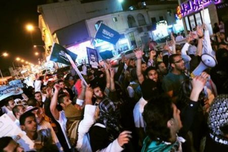 shiitenews_Saudis_stage_protest_in_Qatif