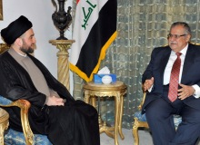 shiitenews_Iraqi_President__alabani_and_Hakeem_stress_importance_to_implement_political_agreements