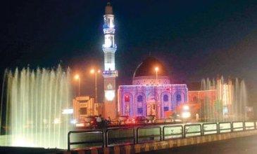 shiitenews_A_mosque_on_The_Mall_illuminated