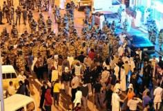 shiitenewssaudi clash protester