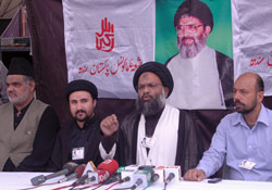 shiitenews moulana ali muhammad press conference