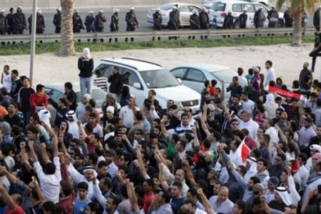 Bahrainis gather at UN office in Manama
