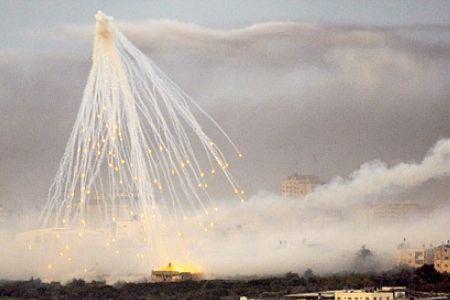 Israel may use phosphorous shell in Gaza