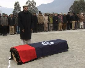 Shaheed DSP Ibrahim laid to rest at Gilgit