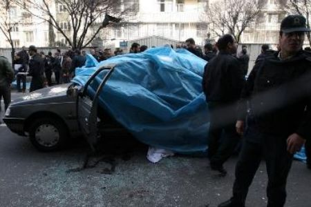 Terror car bomb blast kills Iran scientist