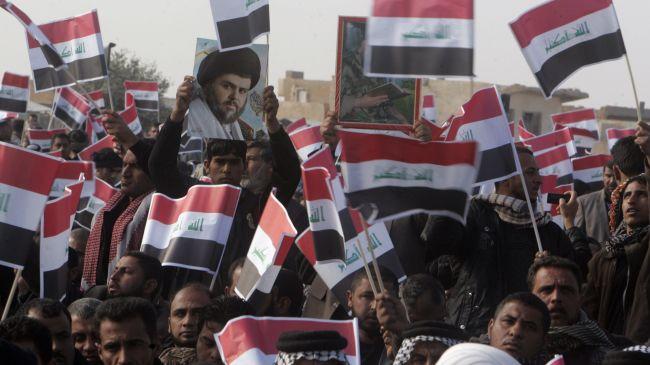Iraqi people celebrate US troops withdrawal
