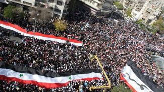 shiitenews Syrians-rally-in-support-of-President-Bashar-al-Assad-file-photo