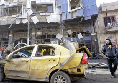 shiitenews iraq car blast