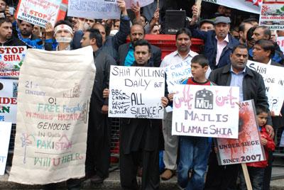 londan shia protest