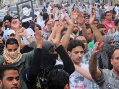 saudi shia protest