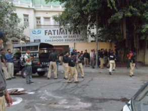 police shelling