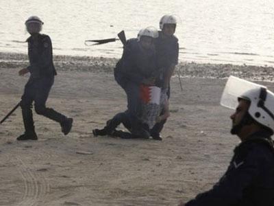 Bahrainis rally- in around