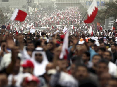 US fears Bahrain revolution