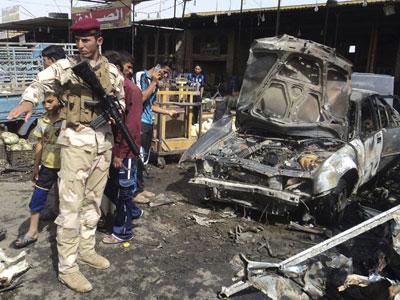 iraq blast new attack