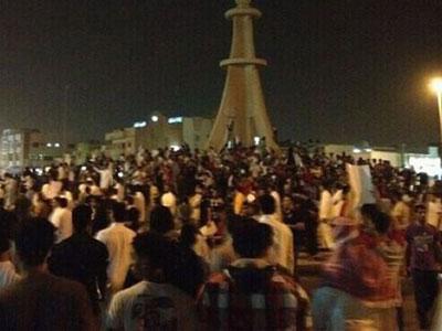 saudi young protester