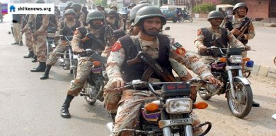 Rangers and police arrest three Taliban terrorists in Karachi