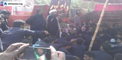 Protest against enforced disappearance of Shias held in Jacobabad