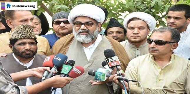 Allama Raja Nasir condemns Dr Zafar