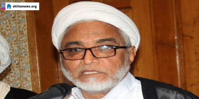 Allama Mirza Yousuf named in false case