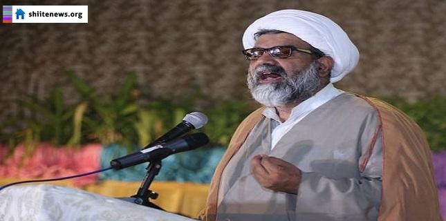 Allama Raja Nasir asks polity and establishment