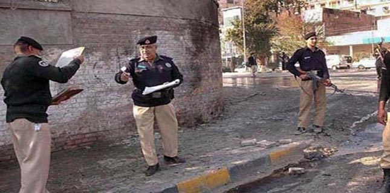 Terrorists kill two policemen