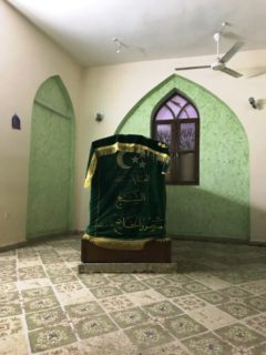 The tomb of the Persian mystic