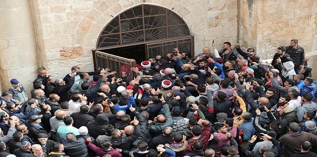 "Israeli Court decided to re-close ""Bab Al-Rahma"" Chapel"