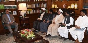 MWM delegation meets Sindh Governor to apprise him of grievances