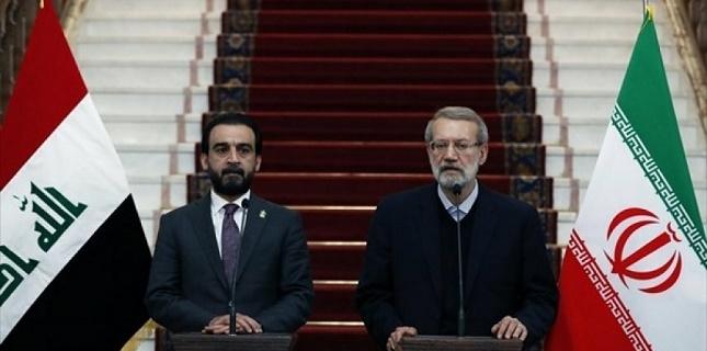 Iraqi Speaker met his Iranian counterpart