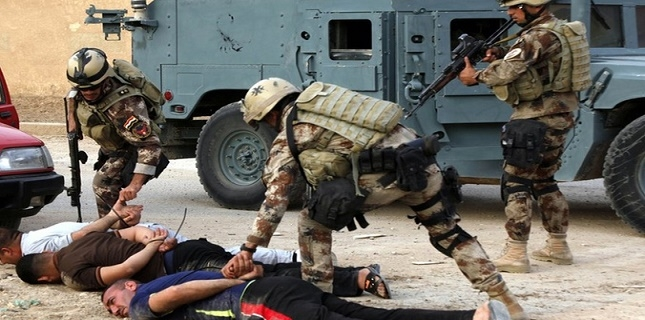 Iraqi police arrest 9 ISIS Terrorists in different parts of Mosul