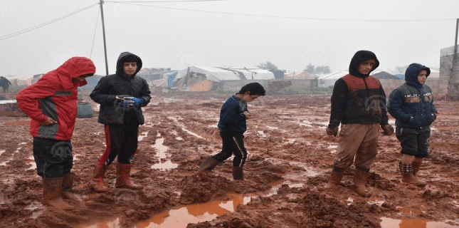 Dozens of Syrian children died due to cold at refugee camp in Hasakah: UN
