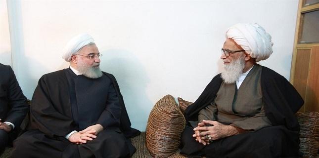 Iranian President met with Ayatollah Bashir Najafi