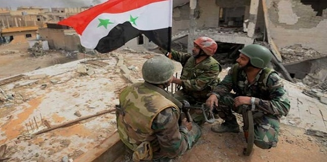 Syrian army repelled terrorist attacks