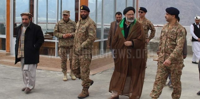 Allama Agha Ali Rizvi meets Commander FC NA to discuss current situation