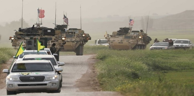 Syrian Popular Forces Attack US