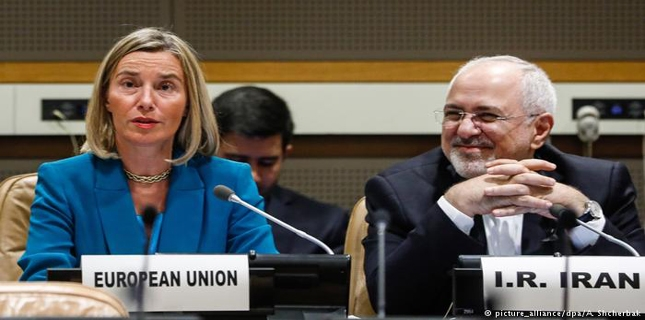 Mogherini chides Trump administration to defend EU-Iran trade ties
